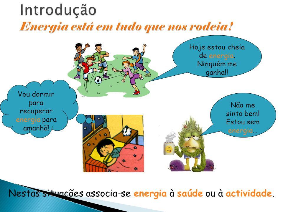 Introdução Energia está em tudo que nos rodeia!