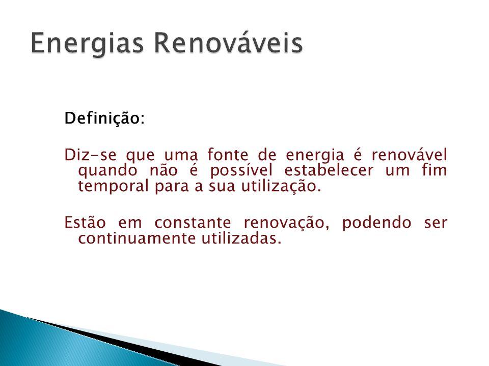 Energias Renováveis Definição:
