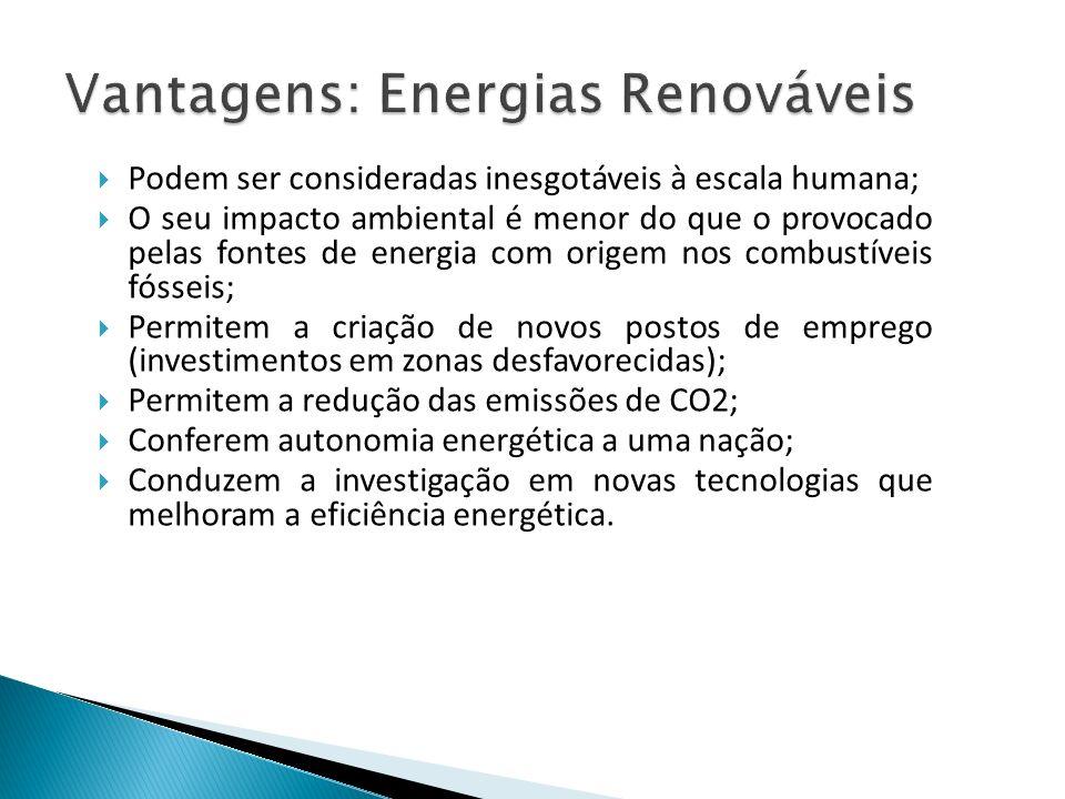 Vantagens: Energias Renováveis