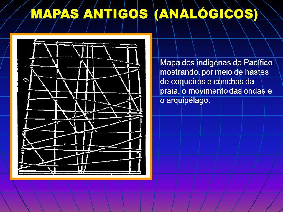 MAPAS ANTIGOS (ANALÓGICOS)