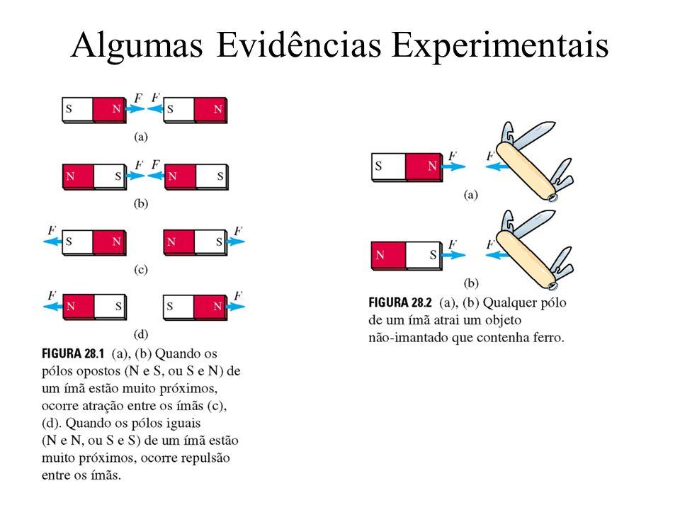 Algumas Evidências Experimentais