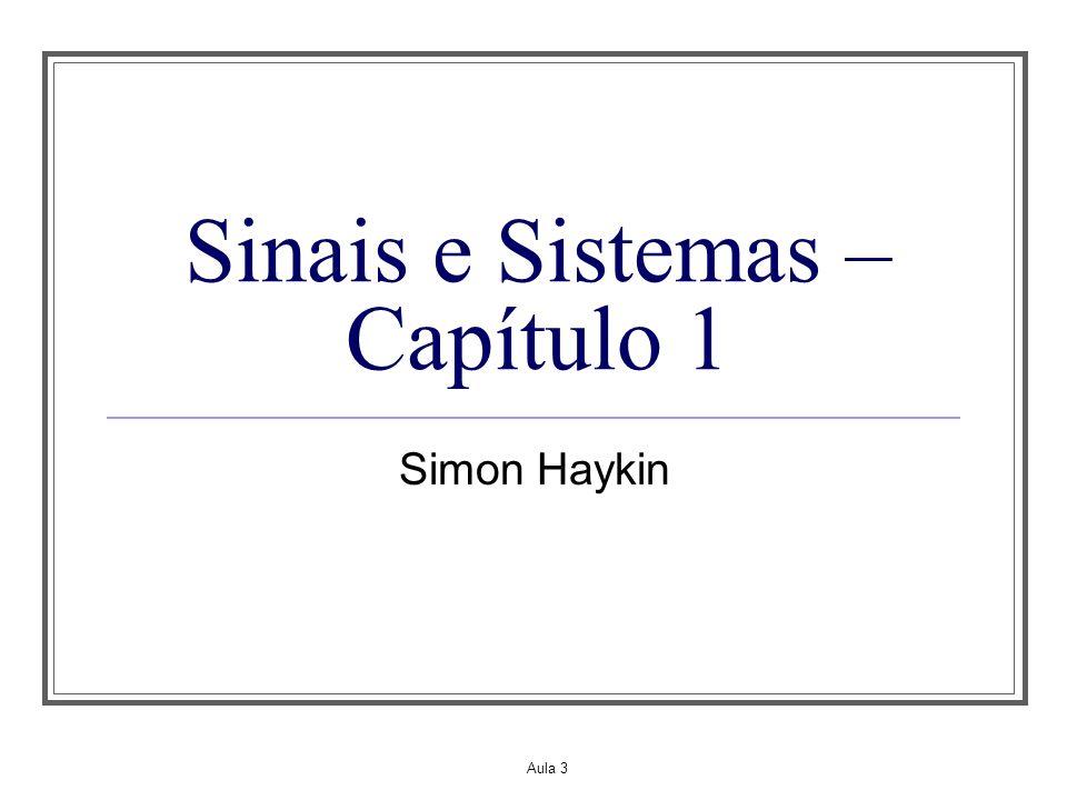 Sinais e Sistemas – Capítulo 1