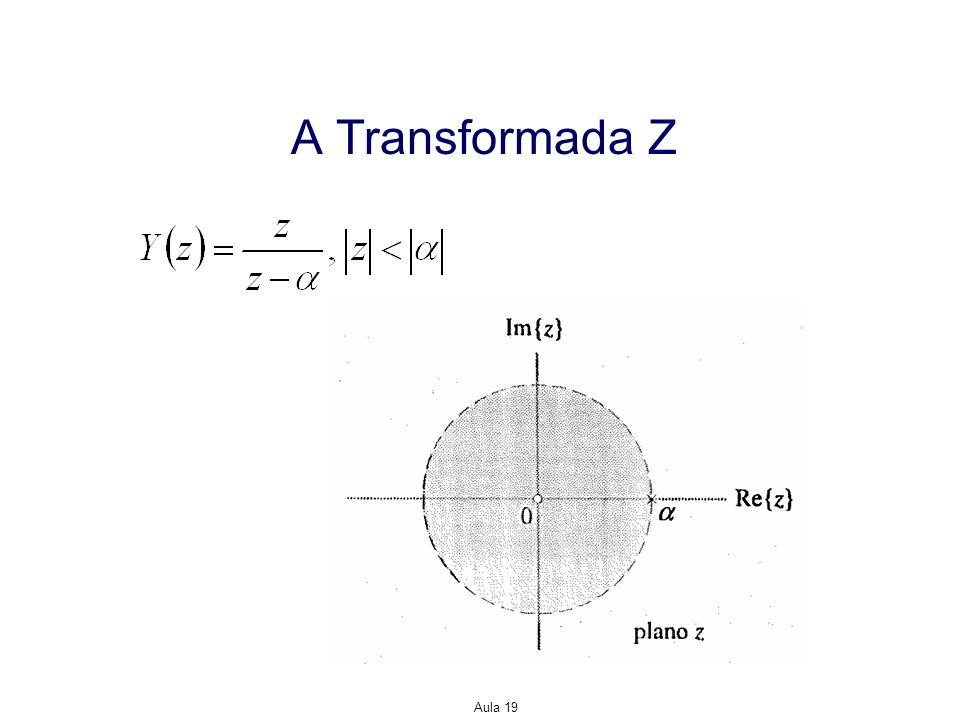 A Transformada Z Aula 19