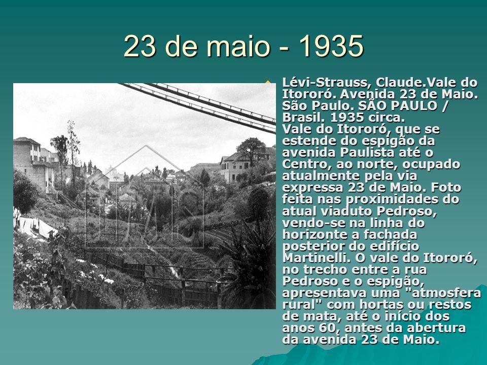 23 de maio - 1935