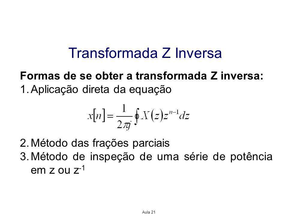 Transformada Z Inversa