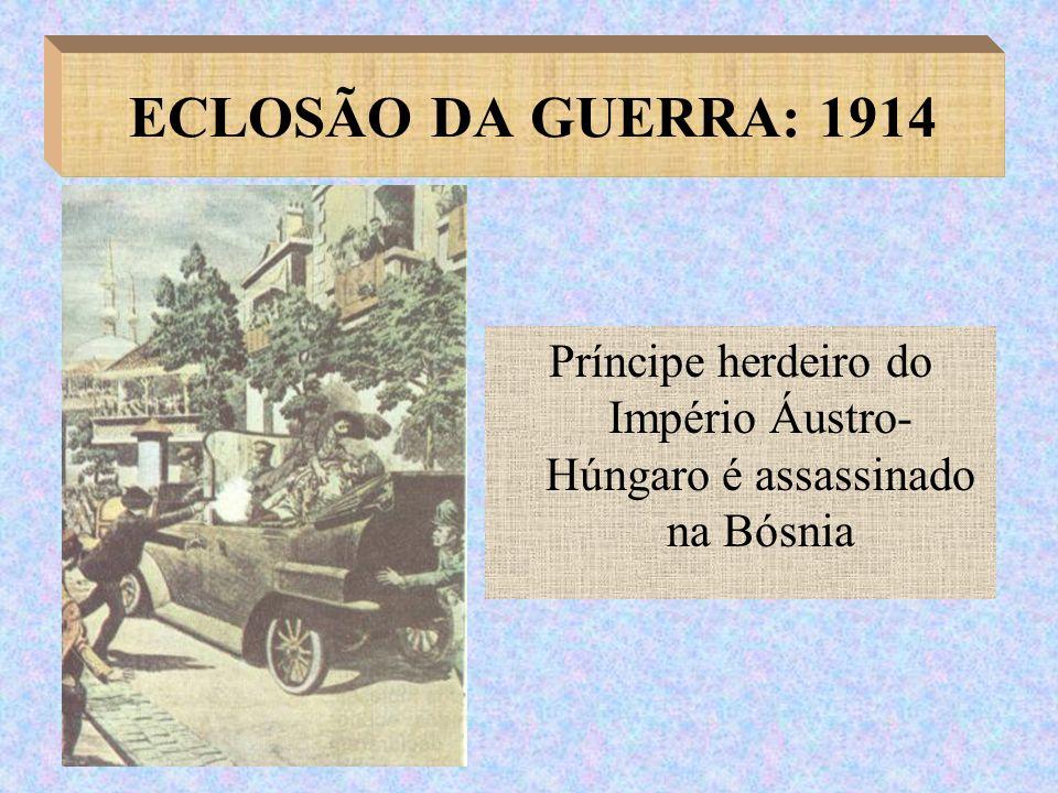 Príncipe herdeiro do Império Áustro-Húngaro é assassinado na Bósnia
