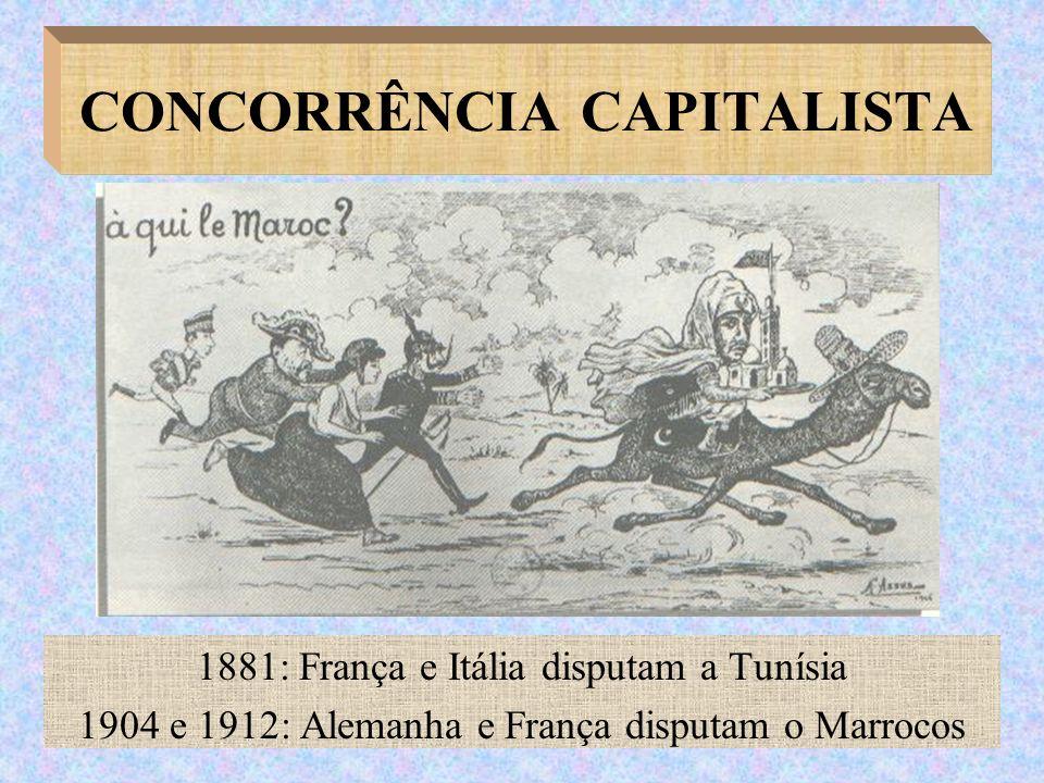 CONCORRÊNCIA CAPITALISTA