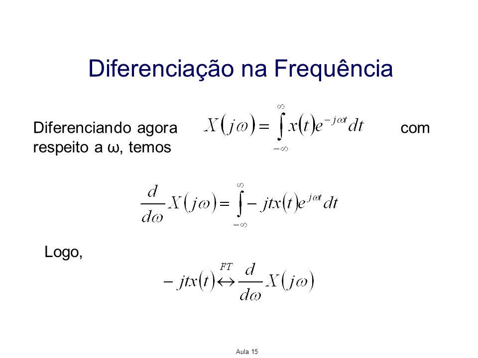 Diferenciação na Frequência