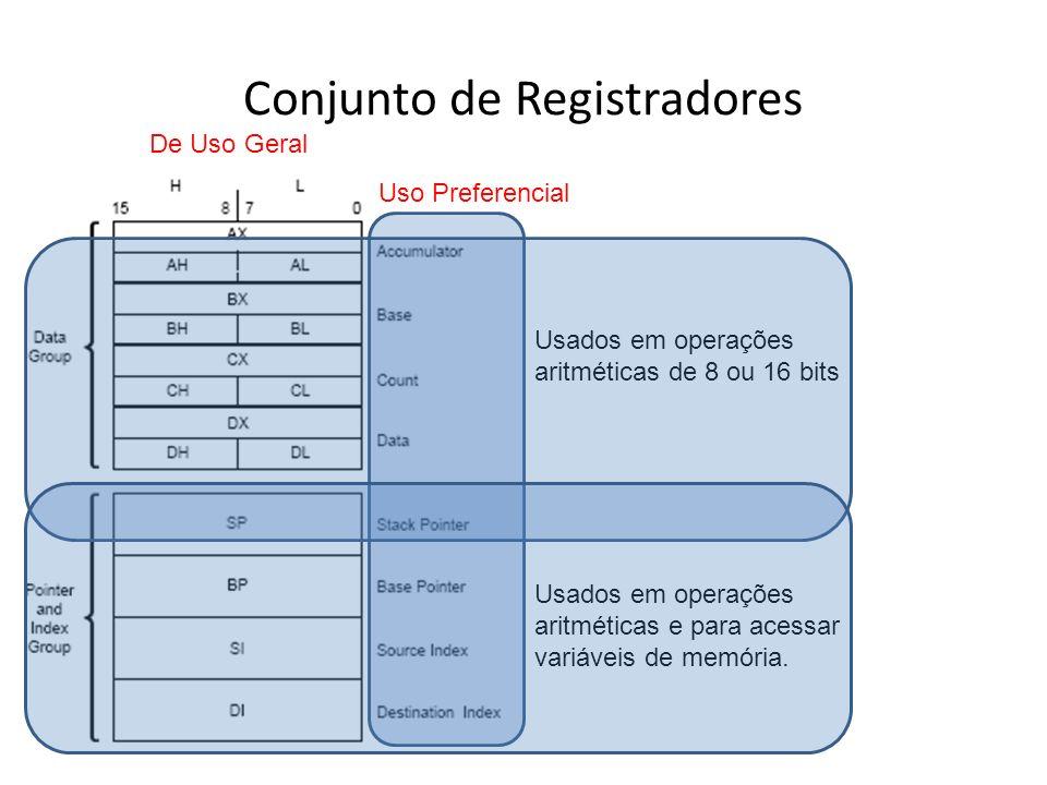 Conjunto de Registradores