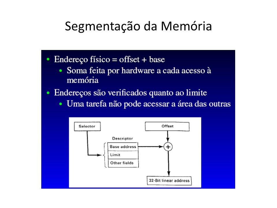 Segmentação da Memória