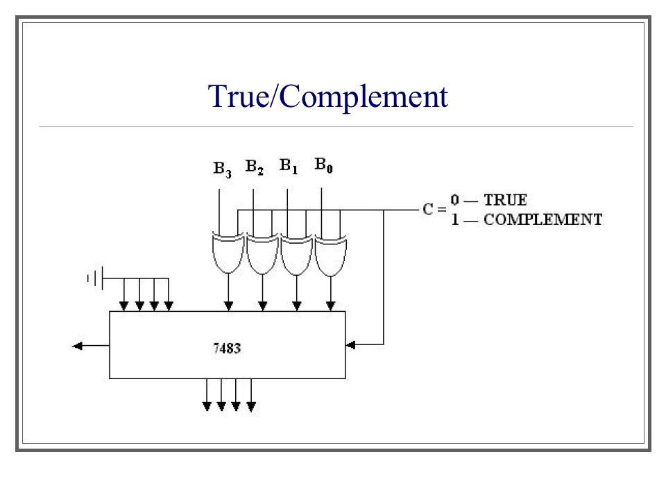 Aula 1 True/Complement
