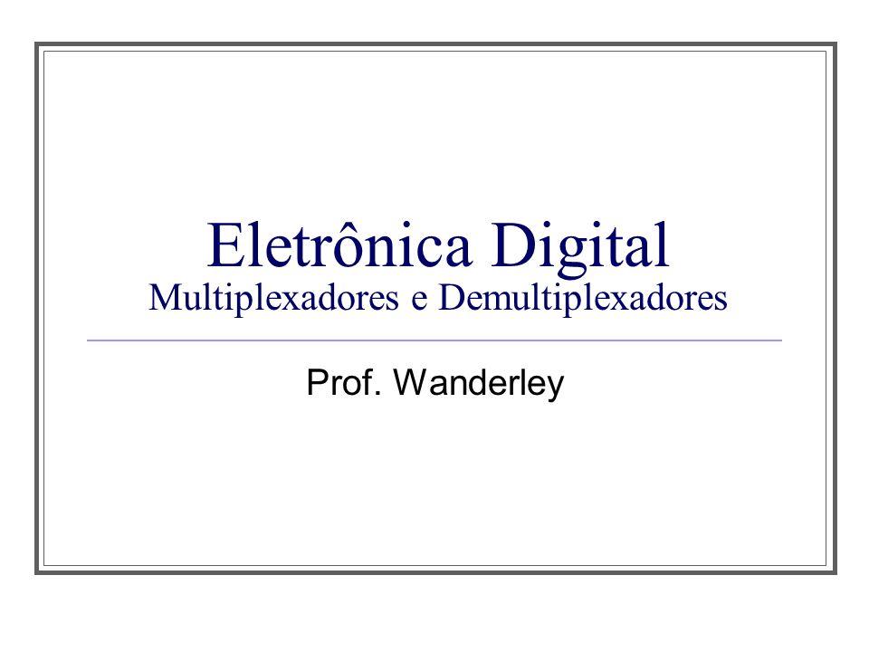 Eletrônica Digital Multiplexadores e Demultiplexadores