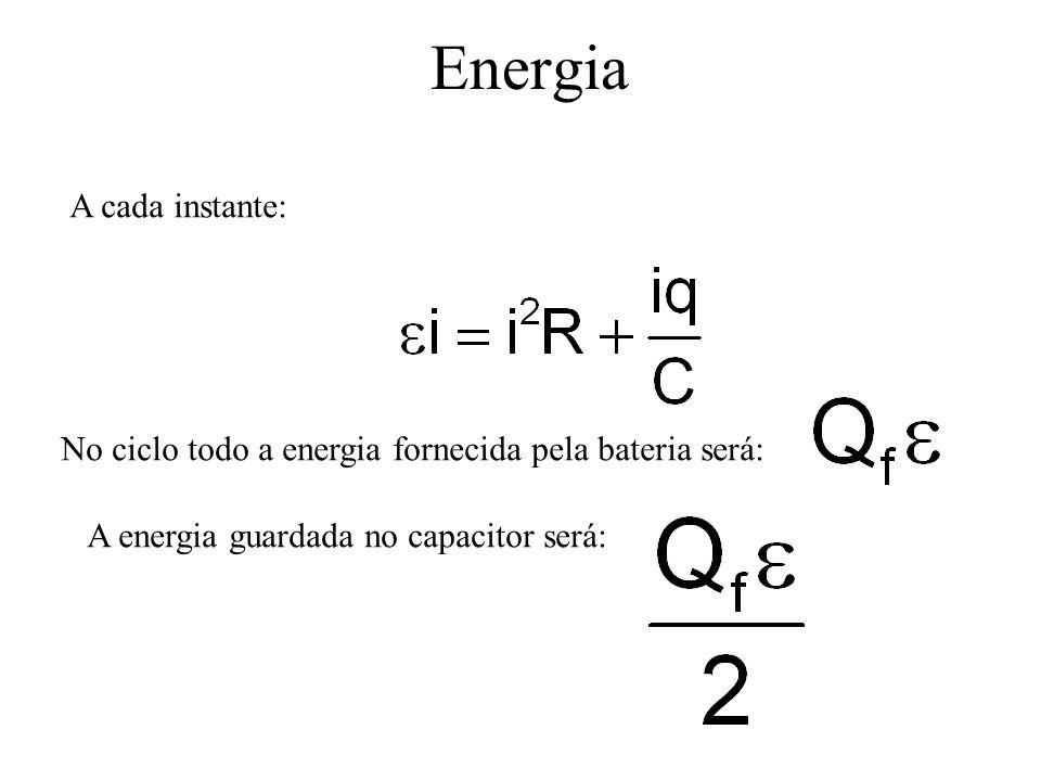 Energia A cada instante: