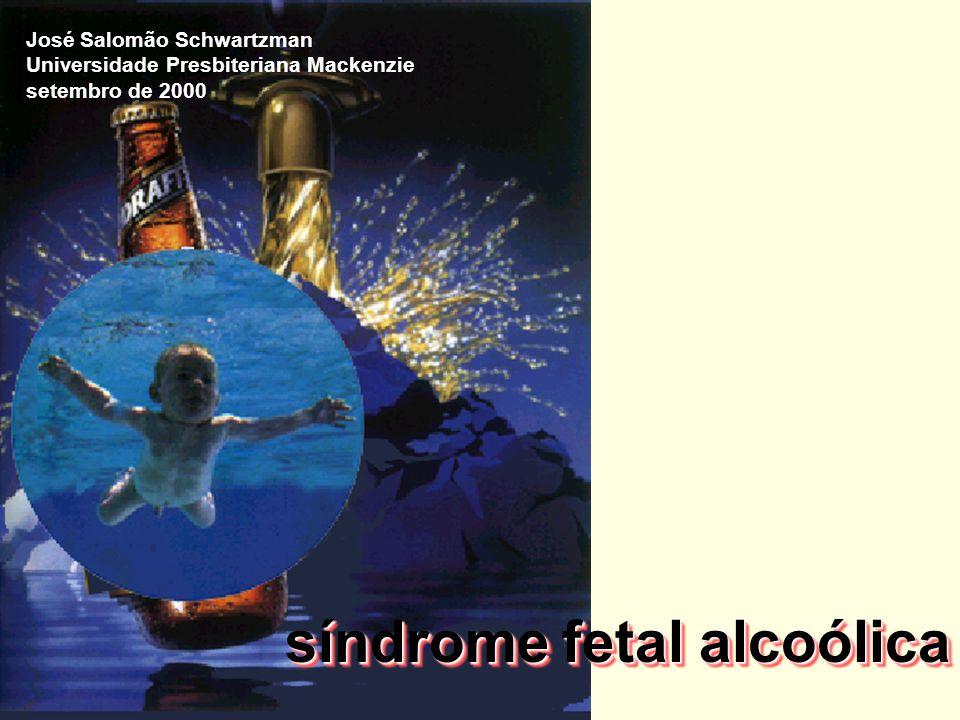 síndrome fetal alcoólica