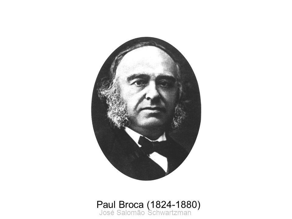 Paul Broca (1824-1880) José Salomão Schwartzman