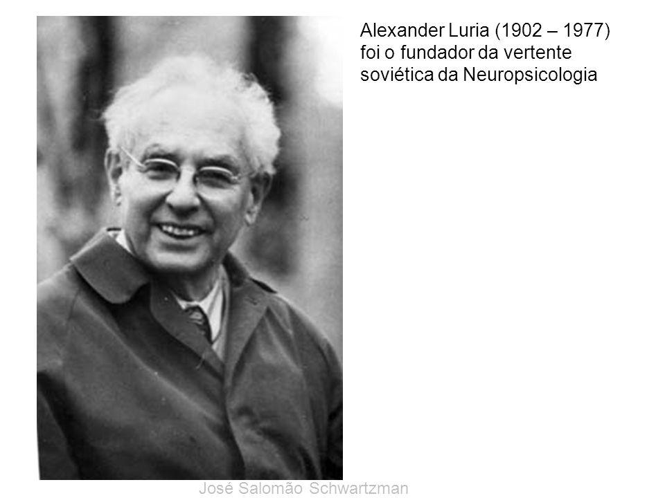 foi o fundador da vertente soviética da Neuropsicologia