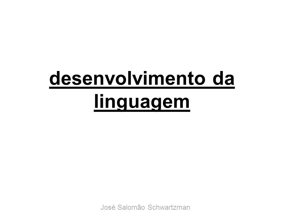 desenvolvimento da linguagem