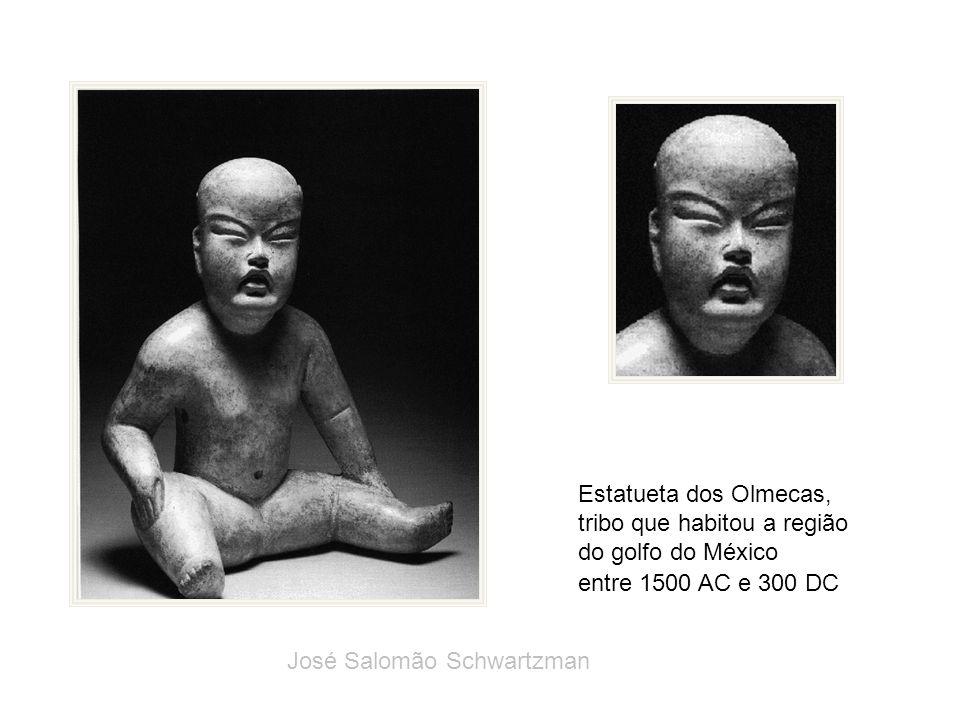 Estatueta dos Olmecas, tribo que habitou a região.