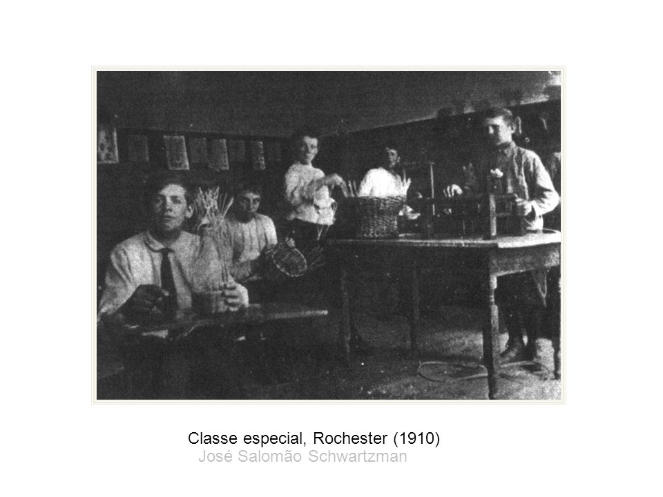 Classe especial, Rochester (1910)