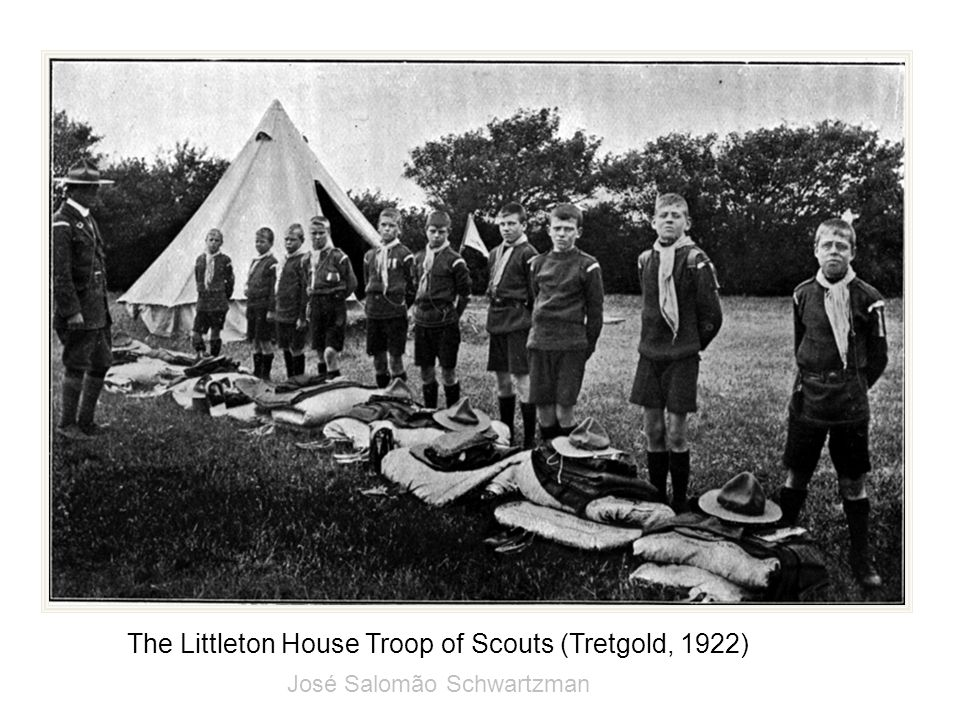 The Littleton House Troop of Scouts (Tretgold, 1922)