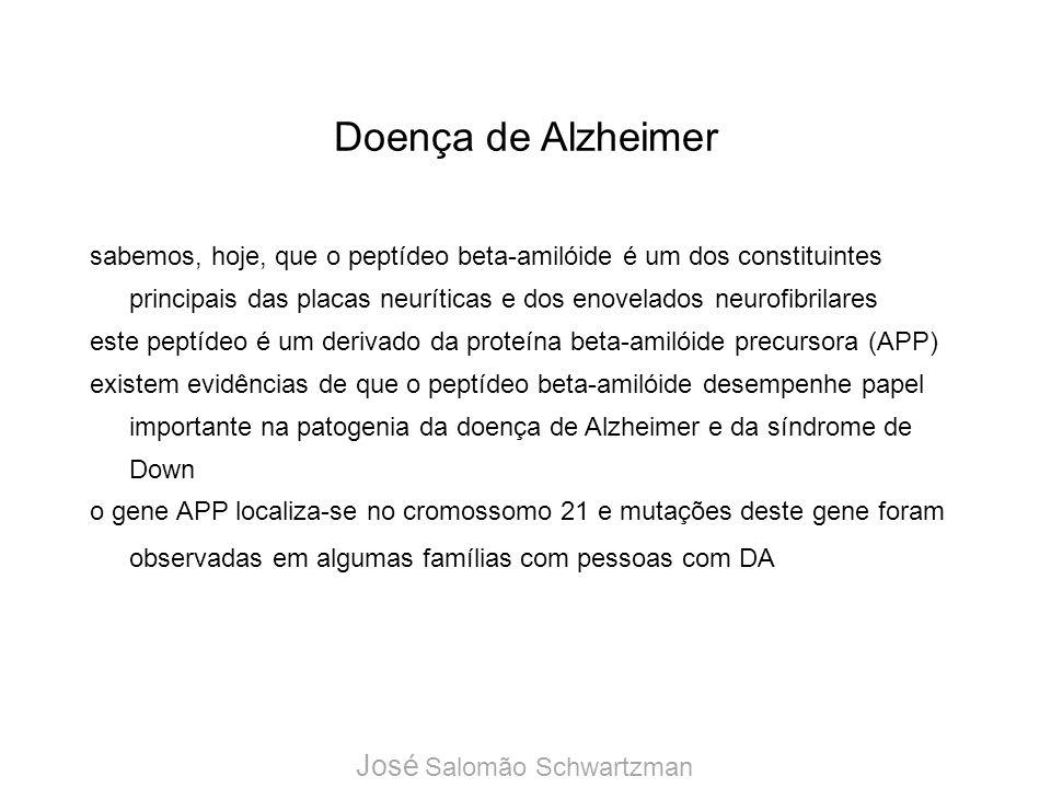 Doença de Alzheimer José Salomão Schwartzman
