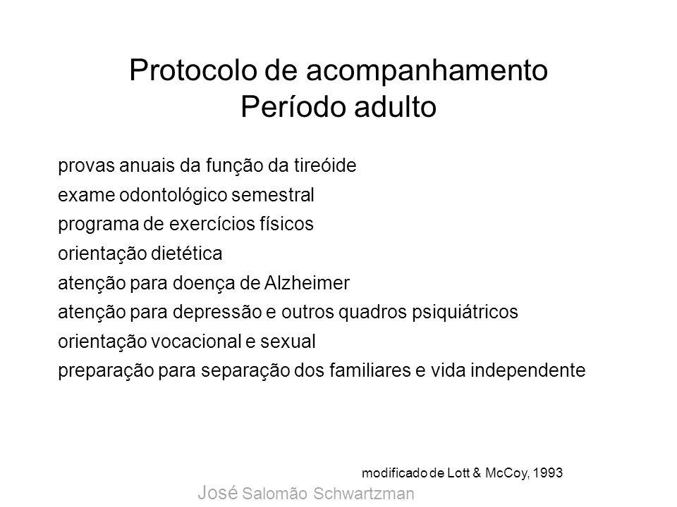 Protocolo de acompanhamento Período adulto