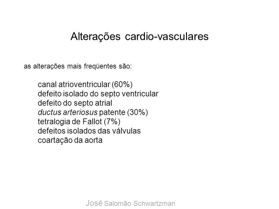 Alterações cardio-vasculares