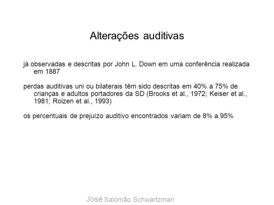 Alterações auditivas José Salomão Schwartzman