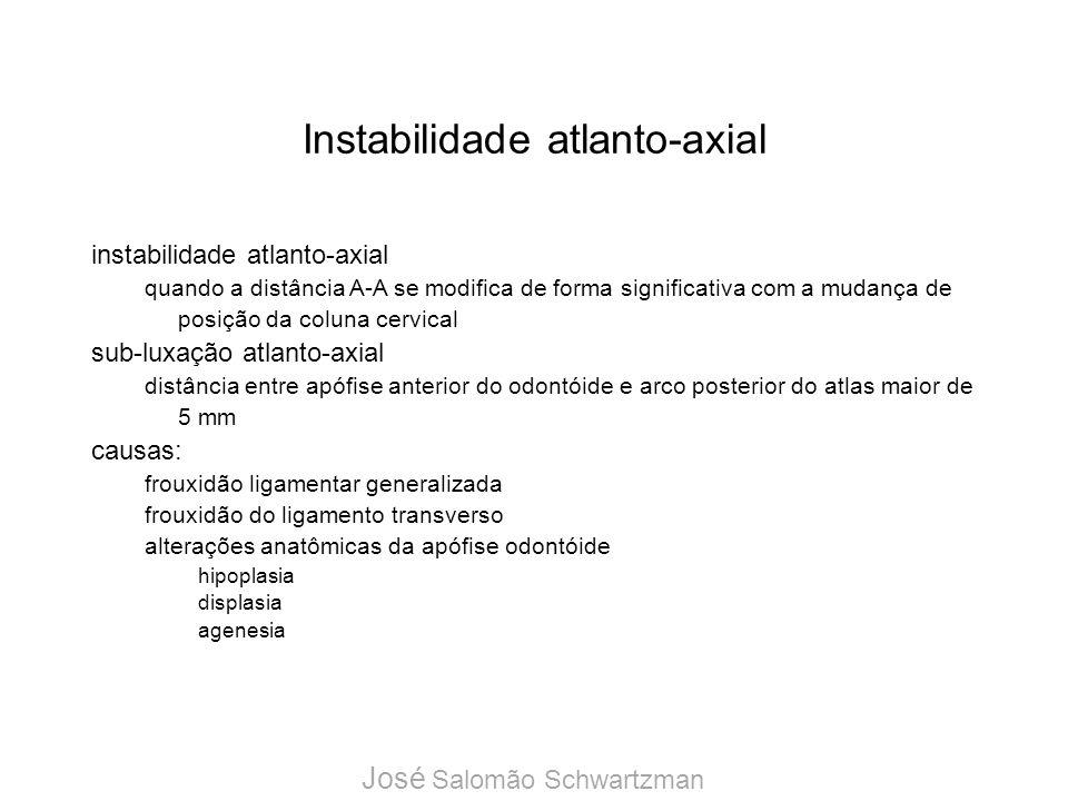 Instabilidade atlanto-axial