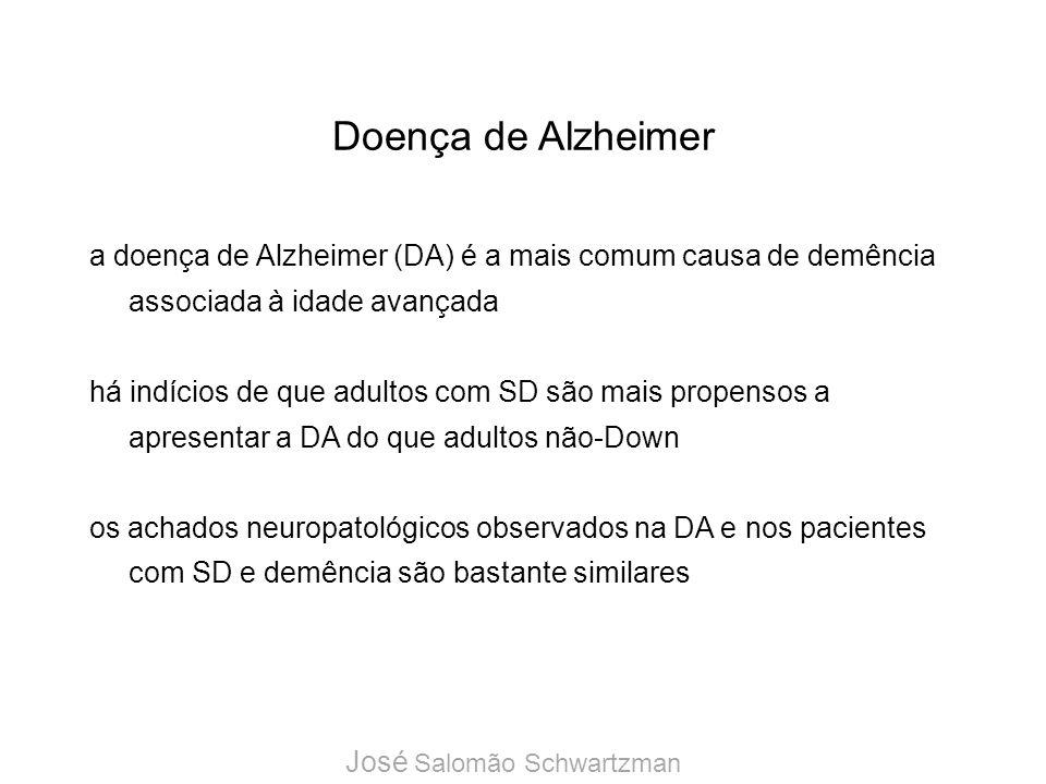 Doença de Alzheimer a doença de Alzheimer (DA) é a mais comum causa de demência associada à idade avançada.