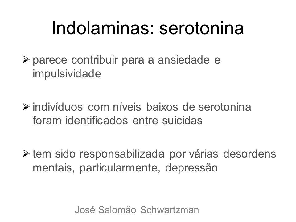 Indolaminas: serotonina