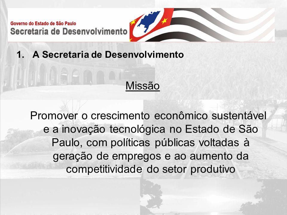 A Secretaria de Desenvolvimento