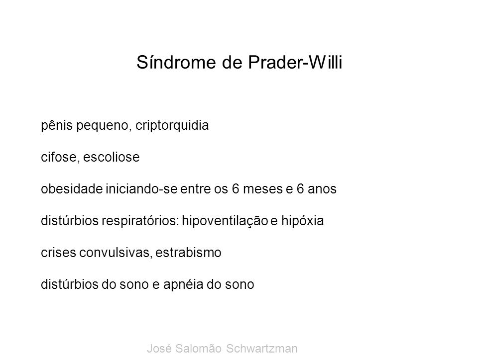 Síndrome de Prader-Willi