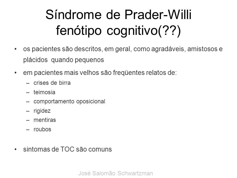 Síndrome de Prader-Willi fenótipo cognitivo( )