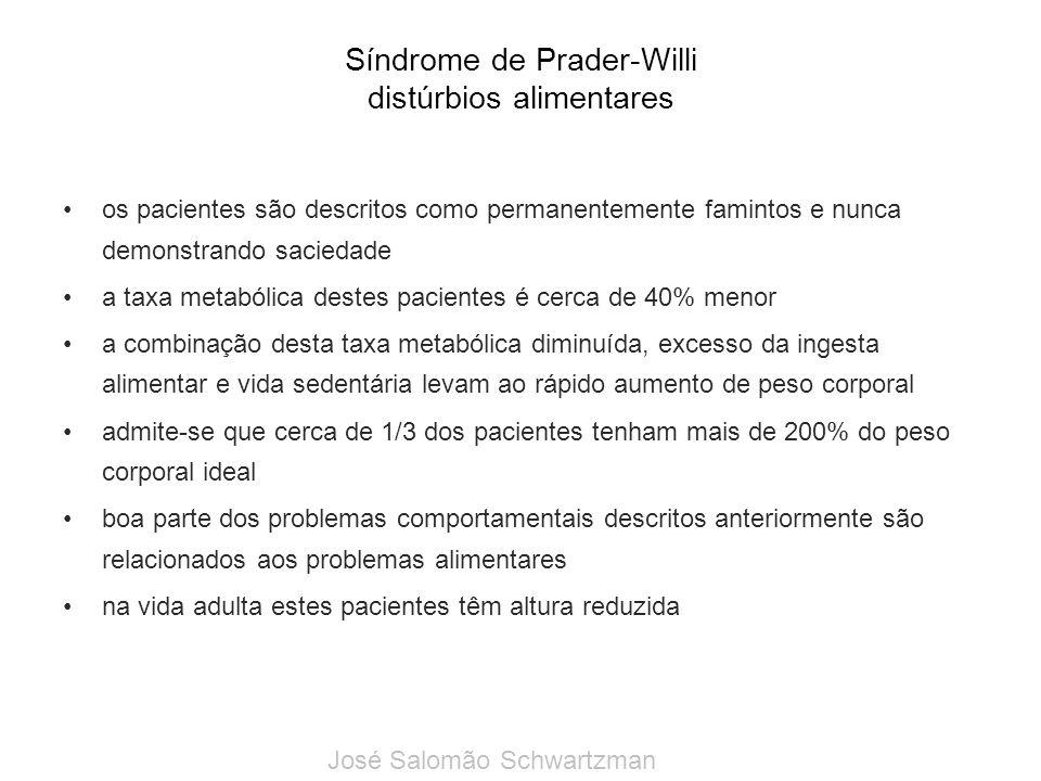 Síndrome de Prader-Willi distúrbios alimentares