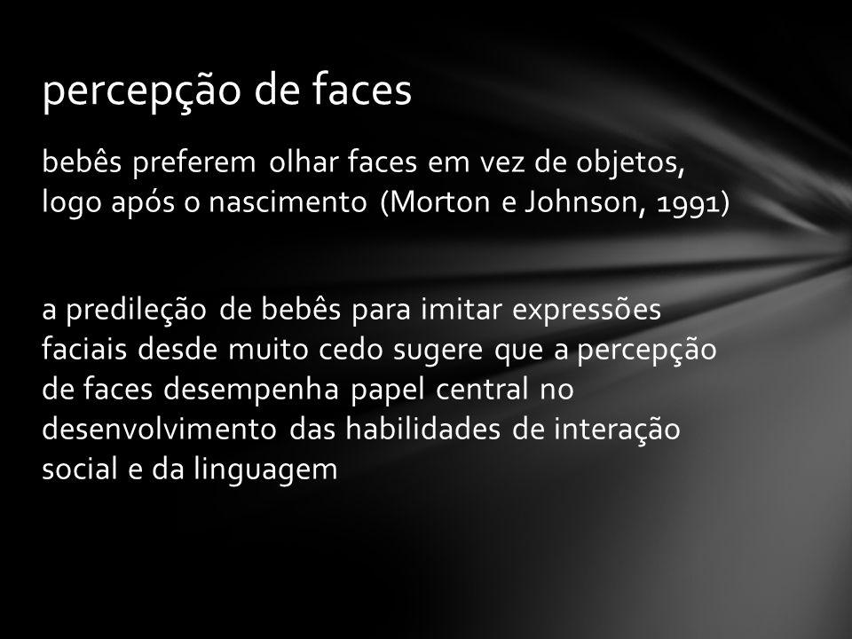 percepção de faces