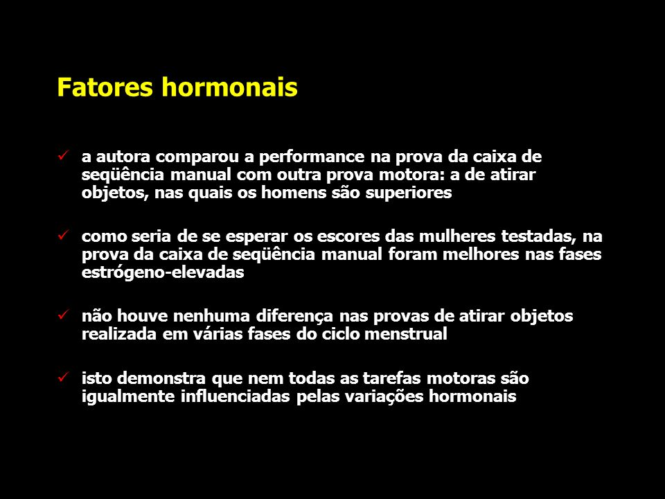 Fatores hormonais