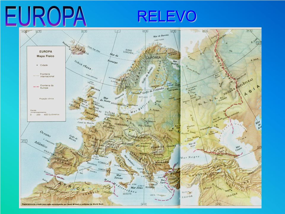 EUROPA RELEVO