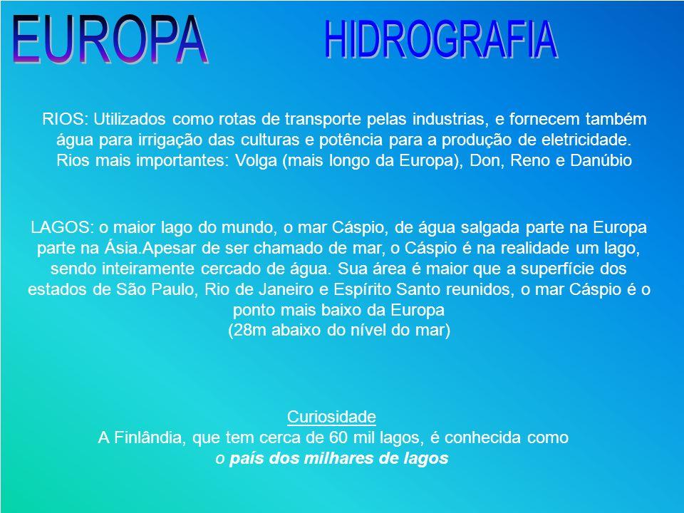 EUROPA HIDROGRAFIA.