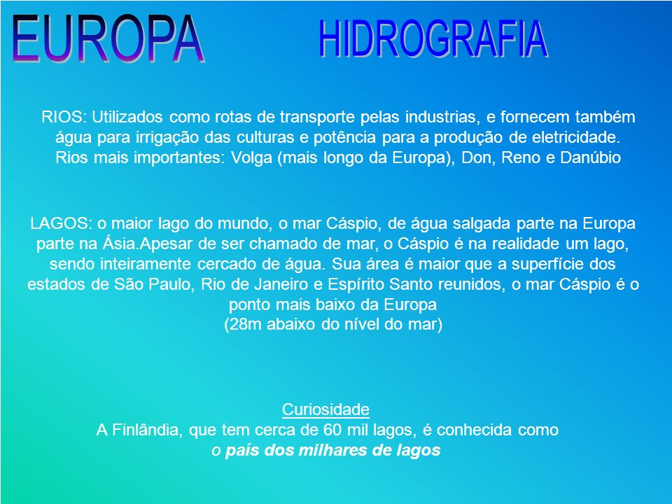 EUROPAHIDROGRAFIA.