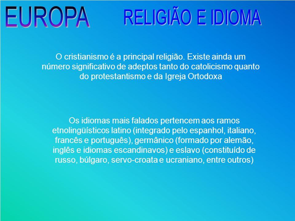 EUROPA RELIGIÃO E IDIOMA
