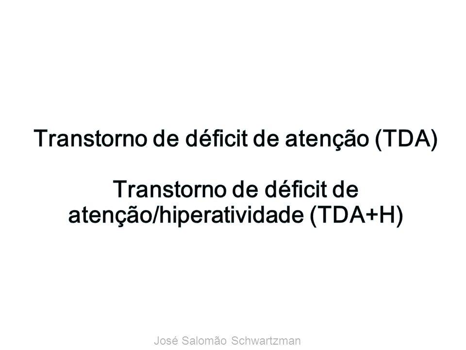 Transtorno de déficit de atenção (TDA) Transtorno de déficit de atenção/hiperatividade (TDA+H)