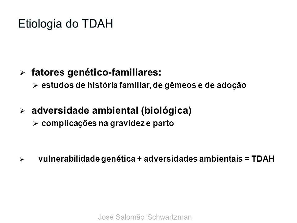 Etiologia do TDAH fatores genético-familiares: