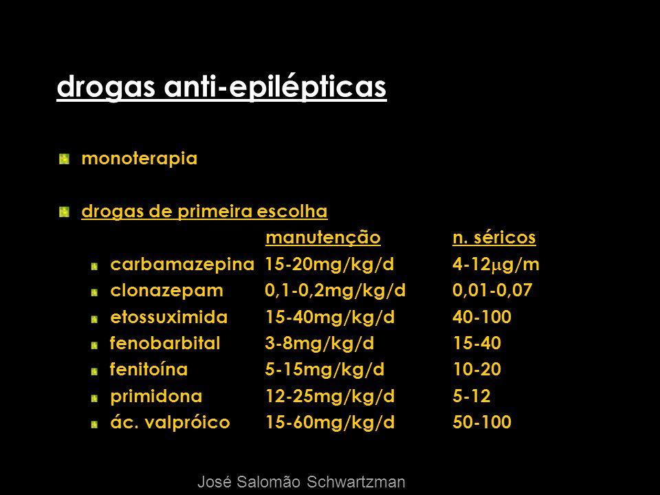 drogas anti-epilépticas