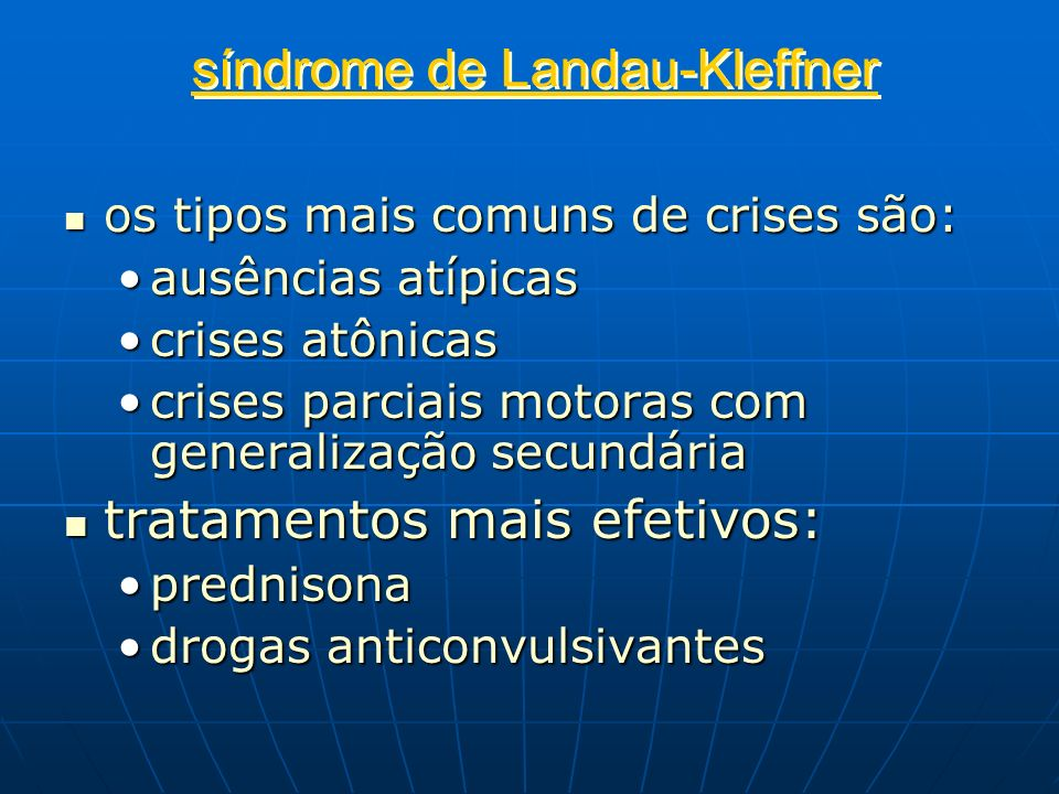 síndrome de Landau-Kleffner