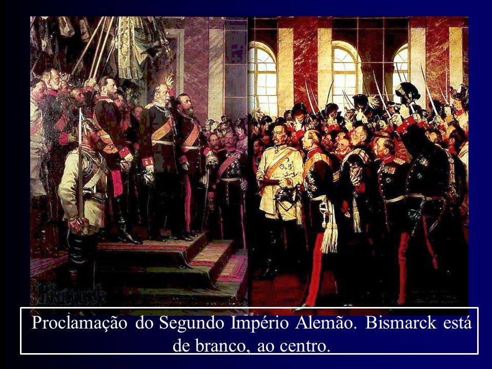 Proclamação do Segundo Império Alemão
