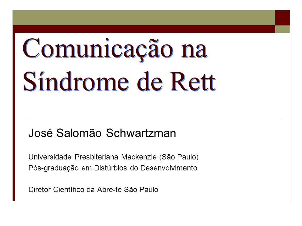 Comunicação na Síndrome de Rett