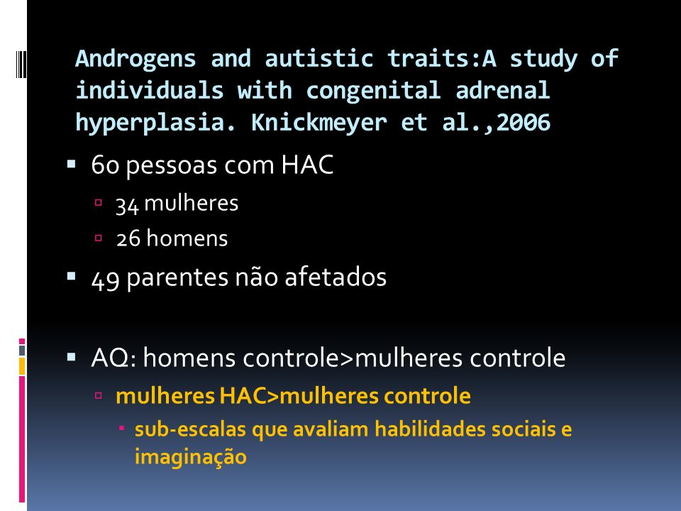 AQ: homens controle>mulheres controle