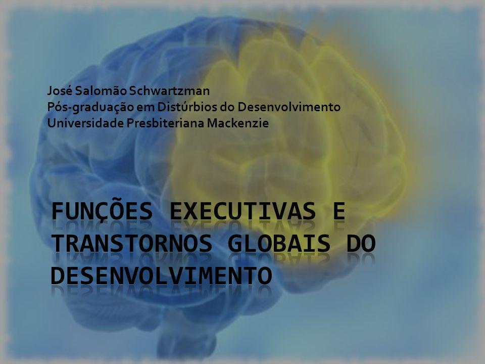 funções executivas e transtornos globais do desenvolvimento