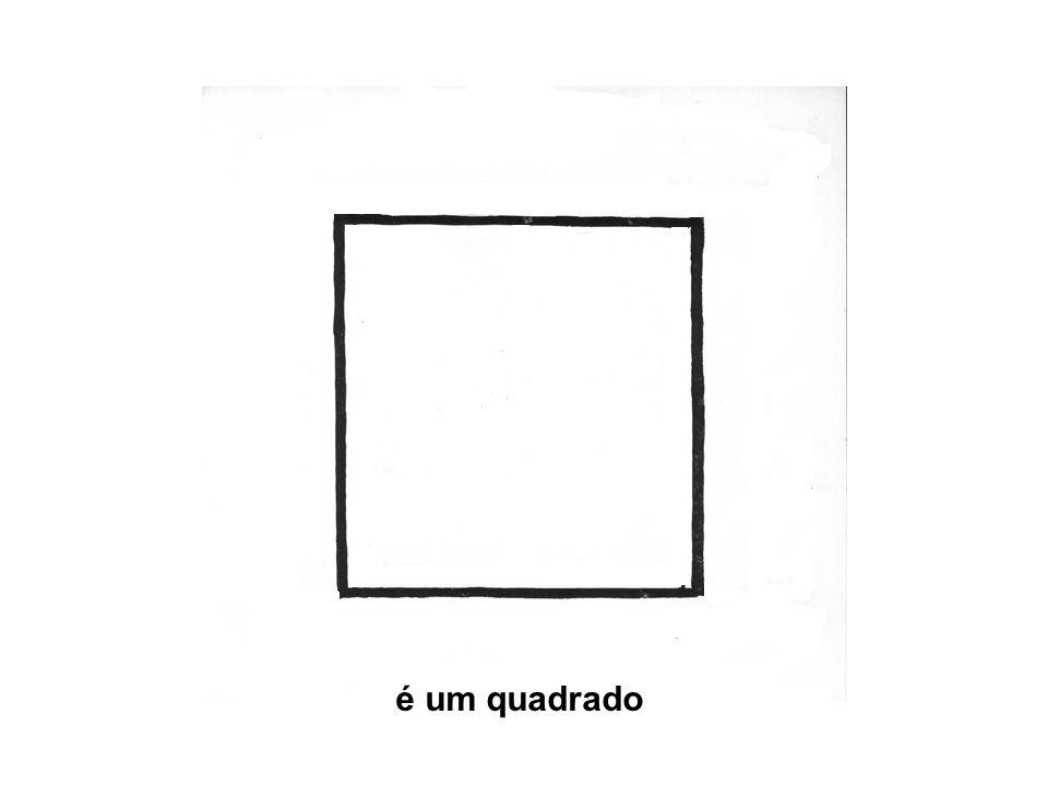 é um quadrado